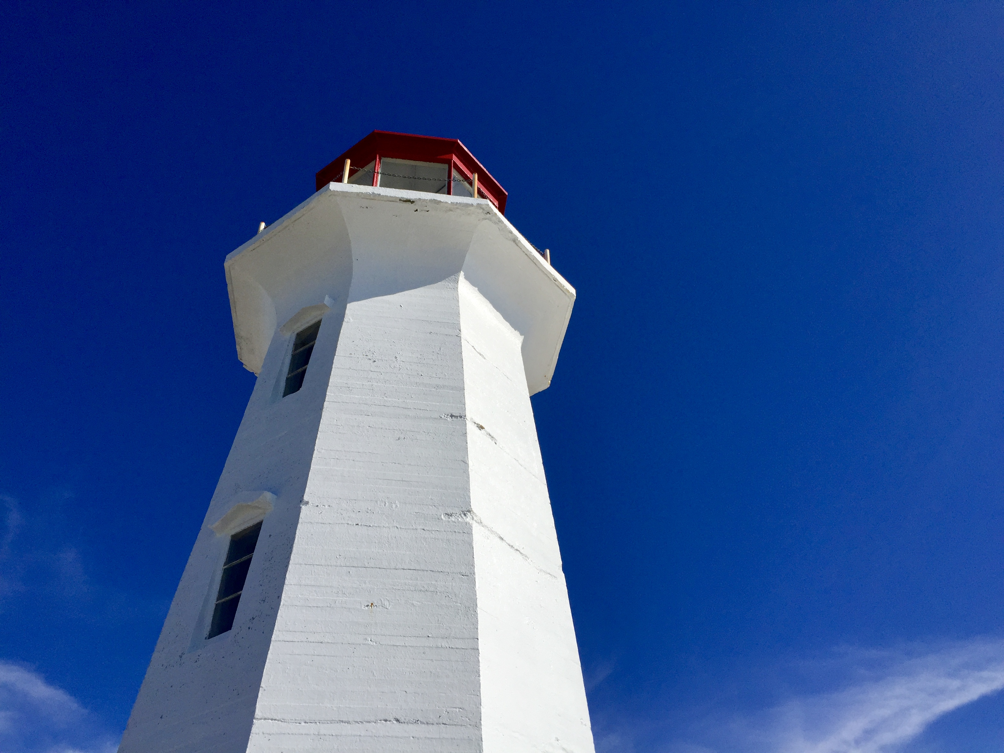 Peggy's Point Lighthouse in Nova Scotia