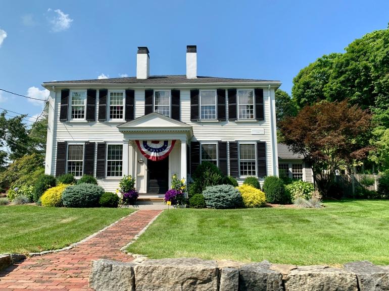 A house in Duxbury, MA