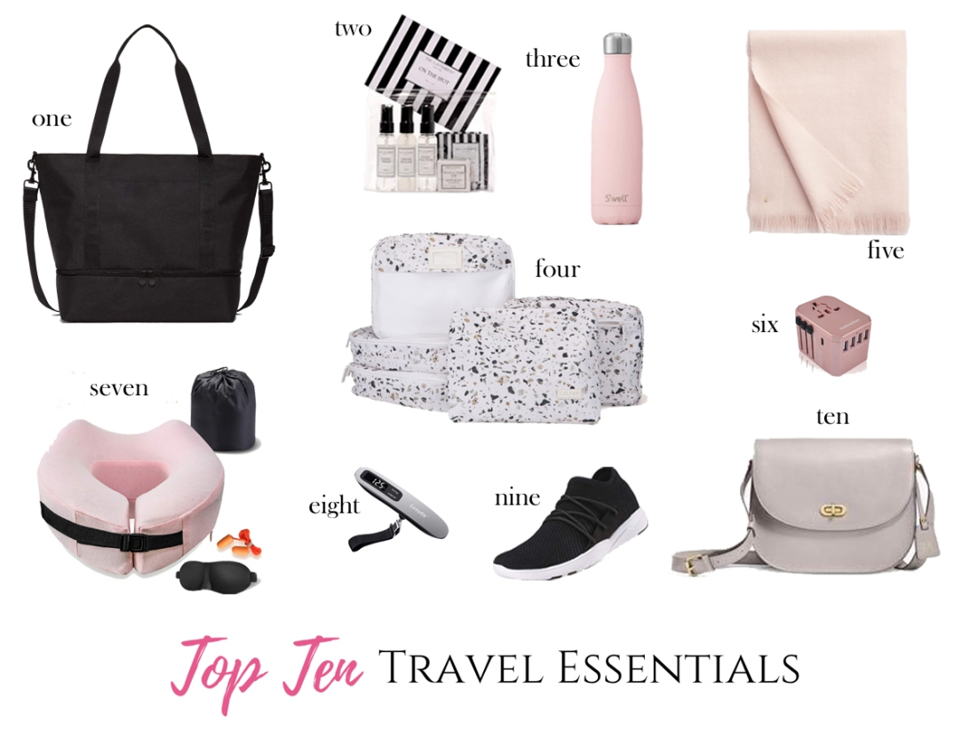top travel essentials