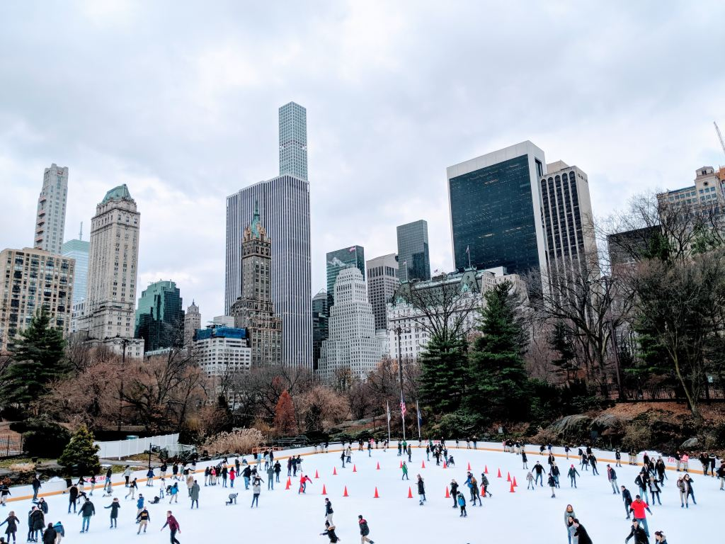 Wollman Skating Rink in Central Park, NYC