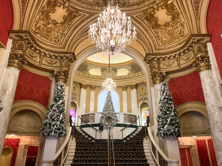 lobby of the Citizens Bank Opera House in Boston